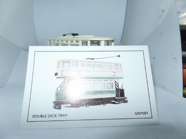 Corgi 97267 1/72 Scale Double Deck Tram Great Grimsby Cleethorpe Boxed Cert